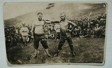 Antique 1920s Armenian Genocide, Syros Greece Fighters Boxers - Group Photo