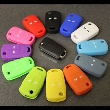 Key Cover For Vauxhall Opel Silicone 2 3 Button Flip Remote Case Fob Vectra 2