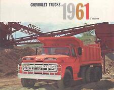 1961 Chevrolet Tandem Truck Brochure 442-DO1T21