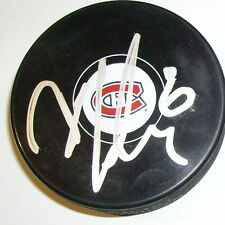 DOUGLAS MURRAY MONTREAL CANADIENS SIGNED HOCKEY PUCK w/ COA