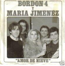 BORDON 4 Y MARIA JIMENEZ-AMOR DE NIEVE SINGLE VINILO