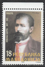 Makedonien / Mazedonien Nr. 263** 125.Geburtstag von Nikola Karev