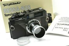 Voigtlander rangefinder BESSA R2S  HELIAR 50mm 3,5 unused, MINT CONDITION, boxed
