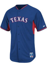 Majestic Texas Rangers Authentic Batting Practice Cool Base Baseball Jersey
