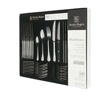 STANLEY ROGERS Manchester 50 Piece Cutlery Quality Stainless Steel