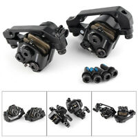 BR-M375 Mechanical Disc Brake Caliper Set MTB Bicycle Front+Rear Black