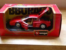 Burango Metal Die cast Ferrari Testarossa 1984 1/24 scale #1504