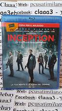 Blu-ray  - INCEPTION - Leonardo di Caprio - Caine - C. Nolan