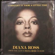 """Diana Ross - I Thought It Took A Little Time 7"""" Mint- Vinyl 45 Motown M 1387F"""
