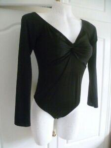 Boohoo Black Bodysuit BNWT   size 16