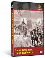 SLAVE CATCHERS, SLAVE RESISTERS (HISTORY CHANNEL) NEW AND SEALED