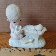 New ListingPrecious Moments Figurine Crown Him Lord of All No Mark Vintage Christmas Decor