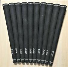 EGK VOLT BLACK OVERSIZE GRIPS .600 CORE SIZE,  10 PACK
