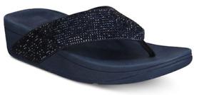 Fitflop Ritzy Midnight Navy Flip Flop Sandal Women's sizes 5-11/NEW!!!