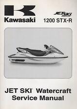 New listing 2004 Kawasaki Watercraft Jet Ski 1200 Stx-R Service Manual 99924-1326-01 (747)
