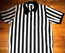 * REFEREE Football Basketball Wrestling * NEW Jersey XL I/4 Zipper w Pocket