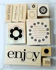 Stampin' Up! ENJOY EVERY MOMENT Set of 11 The Little Things Thank You