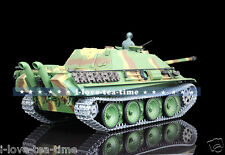 HengLong 1/16 German Cheeth RC Tank Upgraded Metal Airsoft Smog Sound 3869-1