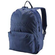 New Reebok Lifestyle Essentials Sport Crosfit Backpack AJ6017 Navy Blue