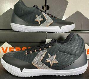 Converse All Star BB EVO Mid Basketball Sneaker Black Sunset Glow 169620C