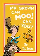 Mr. Brown Can Moo! Can You, Dr Seuss, Book, New A4  Paperback