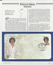 GUYANA # 3234a  PRINCESS DIANA MEMORIAL First Day Cover (1994)