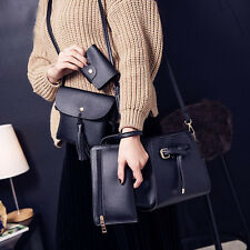 4pcs/Set Women Fashion Handbag Shoulder Bags Tote Bag Crossbody Messenger Purses