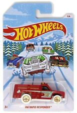 2018 Hot Wheels Holiday Hot Rod Christmas Fire Truck. FKV08. New In Package!