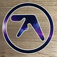 "Aphex Twin Logo 4"" Wide Galaxy Vinyl Decal Sticker - BOGO"