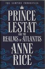 Signed Prince Lestat and the Realms of Atlantis by Anne Rice New First ed h/back