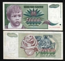 YUGOSLAVIA 50,000 (50000) Dinara, 1992, P-117, World Currency