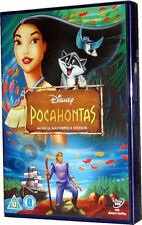 Pocahontas Musical Masterpiece Walt Disney Film Childrens Movie DVD New Sealed