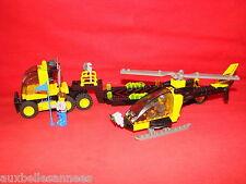 LEGO JACK STONE REF 4607 CAMION DE TRANSPORT HELICOPTERE / JOUET