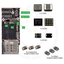 Para iPhone 6 e iPhone 6 Plus de luz de fondo Reparación IC Bobina Diodo & Filtros Kit Completo