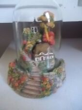 Franklin Mint BELL JAR AUTUMN SPLENDOR  COTTAGE ESTATE FIND