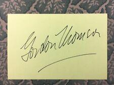 Gordon Thomson - Dynasty - Little Miss Sunshine - Poseidon - Autographed 1983