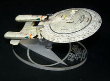 acrylic replacement display base for Eaglemoss Star Trek Enterprise Dreadnaught