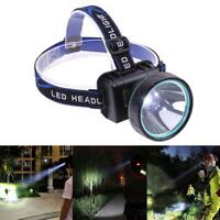 Projecteur étanche Rechargeable LED Lampe Frontale Phare + batterie + chargeur