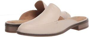 Women's Shoes Clarks TRISH PLANT Slip On Loafer Mule Clog 55005 IVORY