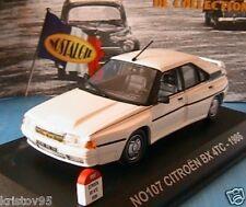 CITROEN BX 4TC 1986 SERIE NOSTALGIE N° 107 1/43 WEISS BLANCHE SPORT WHITE BIANCA
