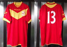 maglia shirt calcio coppa italia pontedera - messina givova nr 13 taglia L