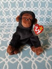 1996 Ty Beanie Baby Congo Rare with errors.