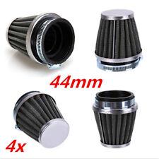 4x Universal Sport Luftfilter Air Filter 44mm für Motorrad Quad ATV Mofa Roller