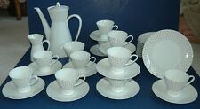 39 piece Rosenthal Studio-Linie Dessert Coffee Tea Set Colonnade Pattern