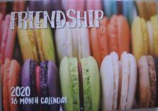 2020 Paperback Wall Calendar - Friendship