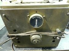 Vintage Perkins  Battery Charger Roller Smith Gauge Military WWII? Steampunk