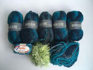 Lot pelotes de laine tricot Bergère de France Katia - 4e lot