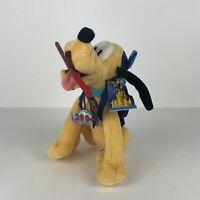 Pluto 2004 Disneyland Bean Bag Plush Theme Park Edition Stuffed Animal