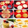 Non Stick Flipping Pancake Maker Silicone Mold Food Egg Omelette Ring Breakfast