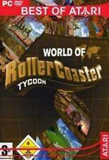 ROLLERCOASTER TYCOON 3 SUPER DELUXE TEIL 2 + 3 + alle AddOns GuterZust.